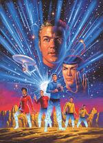 Star Trek Year Five promo art