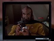 Worf, personal log playback