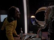 Worf trifft Huraga