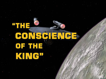 The Conscience of the King title card