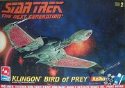 AMT Model kit Klingon Bird of Prey 1997