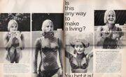 Andrea Dromm 1967 publicity