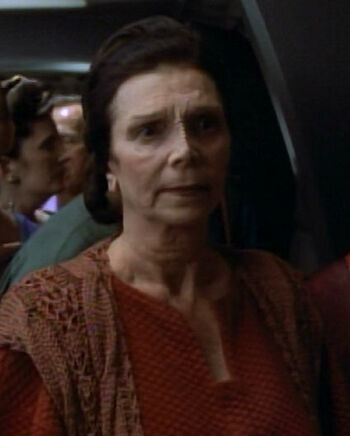 ... as a Bajoran woman