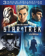 Star Trek 3 Movie Collection Region A cover