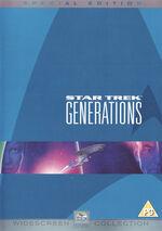 Star Trek Generations DVD cover
