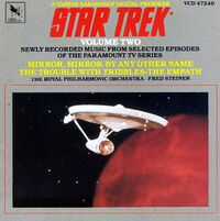 Star Trek Newly Recorded Music volume 2 cover
