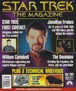 Star Trek The Magazine volume 1 issue 13 cover