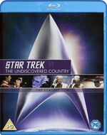 Star Trek VI The Undiscovered Country Blu-ray cover Region B
