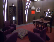 Ulanis Gästequartier auf Deep Space 9
