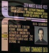 Data personnel file