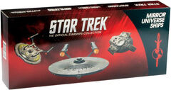 Eaglemoss Mirror Universe 3-pack