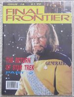 Final Frontier issue 14 cover