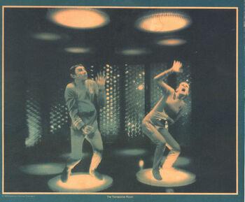 Production image of Sullivan and Jan Rashad Kamal.