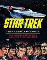 Star Trek Classic UK Comics Vol 1 cover