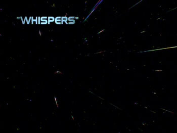 Whispers title card