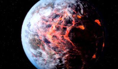 Erde Zerstörung