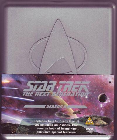 TNG Season 6 DVD-Region 2