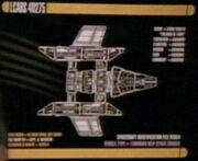 Tamarian starship schematics