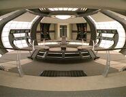 USS Dauntless bridge
