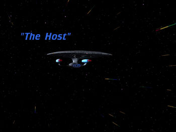 The Host title card