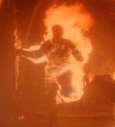Burning man on ds9