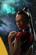 Countdown to darkness, couverture Uhura ébauche 3