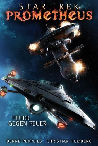 Cover of book 1, <i>Feuer gegen Feuer</i>