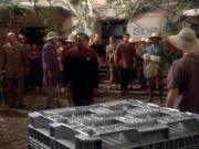 Sisko soll in Kiste gesperrt werden