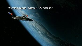Strange New World title card