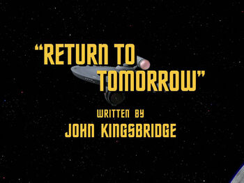 Return to Tomorrow title card