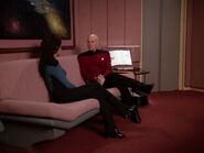 Bereitschaftsraum Enterprise-D Sofa