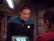 Sisko and Dax discuss Trakor's prophecy