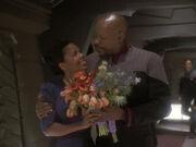 Sisko will dass Kasidy mitspielt
