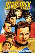 Star Trek 50th Anniversary Cover Celebration cover