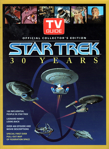 TVGuide Official Collectors Edition Star Trek 30 Years