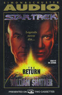 The Return audiobook cover, US cassette edition