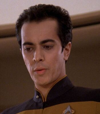 ...as Ensign Rainer