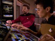 Riker übernimmt die Maschinenraumstation 2369