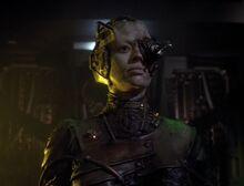 Seven of Nine speaks for the Borg