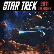 Star Trek Calendar 2011 cover