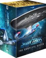 Star Trek The Next Generation - The Complete Series Region A cover