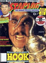Starlog issue 174 cover