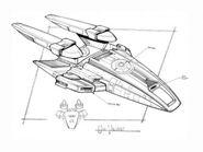 USS Defiant concept art 2
