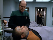 Ashmore and Nicoletti in sickbay