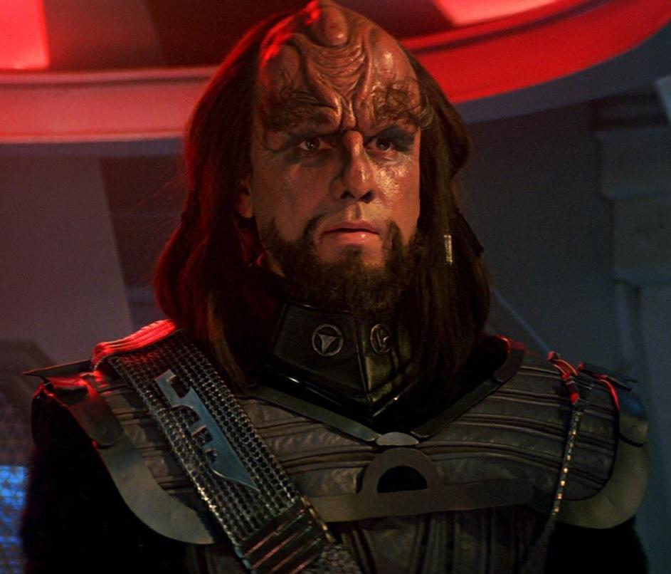 Image result for john larroquette klingon