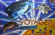 Revell Model Kit 05780 Voyager 3piece Set 1996