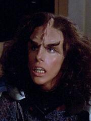 Worfs Gefährtin von Riker erschaffen