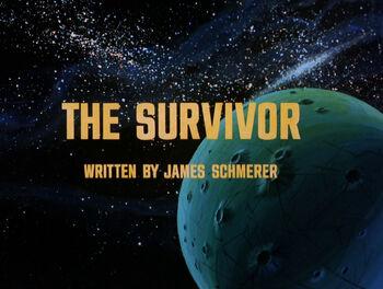 The Survivor title card