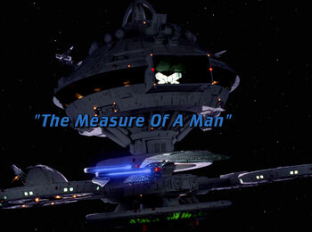 The Measure Of A Man title card
