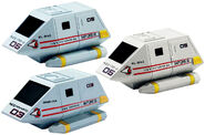 Aoshima Star Trek Shuttlepods